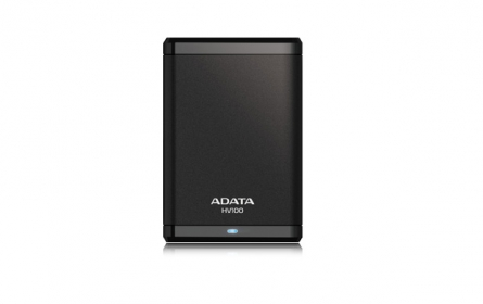 Adata HV100 Külső merevlemez 2TB Fekete (AHV100-2TU3-CBK)