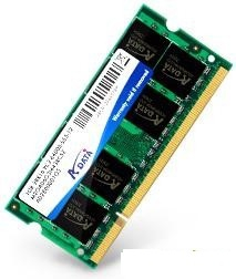 ADATA DDR2  2GB 800MHz CL6 SODIMM 1.8V (AD2S800B2G6-R/S)