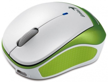 Genius MicroTraveler 9000R wireless optikai fehér-zöld  egér (31030112100)