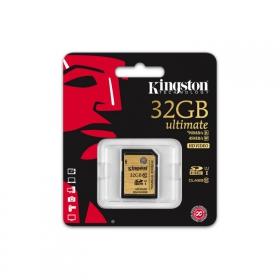 KINGSTON SDHC 32GB CLASS 10 UHS-I Memóriakártya (SDA10/32GB)