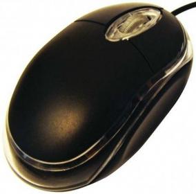 SILVERLINE OM-290 USB optikai fekete egér (GESLOM290B)