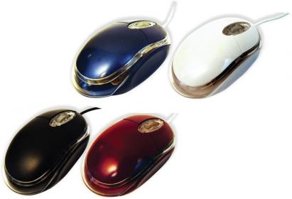 SILVERLINE OM-290 USB optikai kék egér (GESLOM290K)