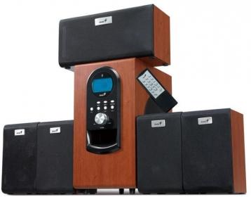 Genius SW-HF5.1 6000 cseresznyefa hangfalszett (31730022101)