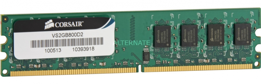 Corsair DDR2 2GB 800MHz (VS2GB800D2)