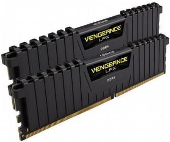 Corsair Vengeance LPX 8GB (2x4GB) 2400MHz DDR4 Fekete (CMK8GX4M2A2400C14)