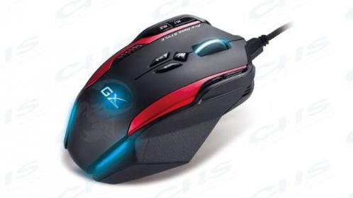 GENIUS Gila GX Professional USB optikai fekete-piros gamer egér ( GILA_GX_USB)