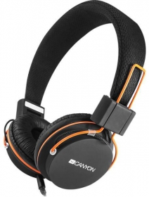 Canyon CNE-CHP2 mikrofonos fekete-narancs headset