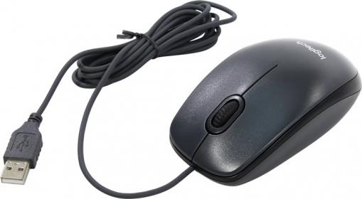 LOGITECH M100 USB optikai szürke egér (910-005003)