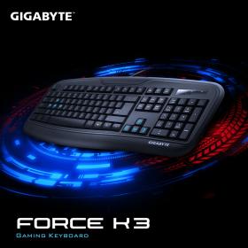 GIGABYTE Force K3 Vezetékes billentyűzet (GK-FK3-HU)