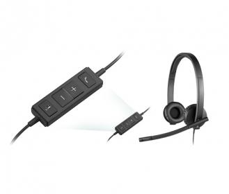 Logitech H570E stereo fejhallgató (981-000575)