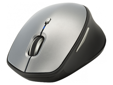HP X5500 wireless lézer ezüst-fekete egér (H2W15AA)