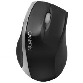 Canyon CNR-MSO01NS USB optikai fekete-ezüst egér