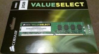 Corsair DDR2 2GB 800MHz (VS2GB800D2)