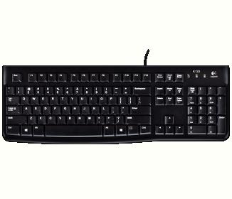 Logitech OEM K120 USB angol billentyűzet (920-002479)