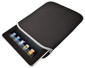 Trust Soft Sleeve 10'' Fekete Tablet Tok (18362)