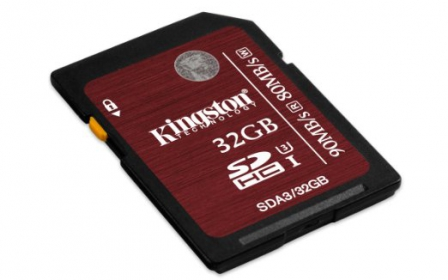 KINGSTON  SDHC 32GB UHS-I Speed Class 3 Memóriakártya (SDA3/32GB)