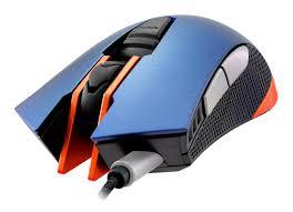COUGAR 550M USB otptikai kék-fekete-sárga gamer egér (550M- METALLIC BLUE)