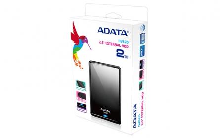 ADATA HV620 DashDrive 2TB Fekete (AHV620-2TU3-CBK)