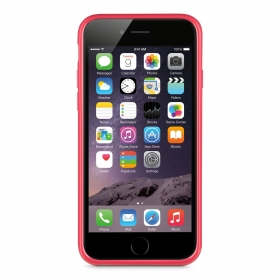 Belkin Grip Case iPhone 6 piros szilikon telefontok (F8W604BTC02)