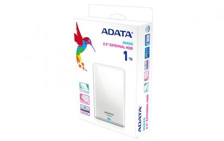 ADATA HV620  DashDrive 1TB USB Fehér (AHV620-1TU3-CWH)