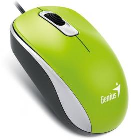 GENIUS DX 110 USB optikai zöld egér (DX_110_GREEN)