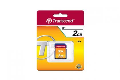 Transcend 2GB SD memóriakártya (TS2GSDC)