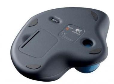 Logitech M570 wireless lézer fekete trackball egér (910-002090)