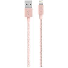 Belkin MIXIT UP Metallic Apple Lightning rózsaszín kábel (F8J144BT04-C00)