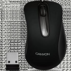 CANYON CNE-CMSW2 wireless optikai fekete egér (CNE-CMSW2)