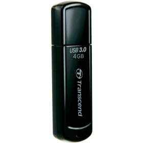 Transcend JetFlash700 4GB Pendrive Fekete (TS4GJF700)
