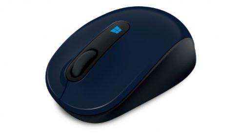 Microsoft Sculpt wireless BlueTrack kék -fekete egér (43U-00013)