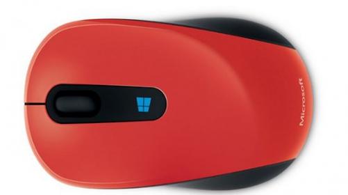 Microsoft Sculpt wireless BlueTrack piros-fekete egér (43U-00025)