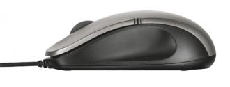 TRUST Ivero USB optikai fekete-szürke egér (20404)