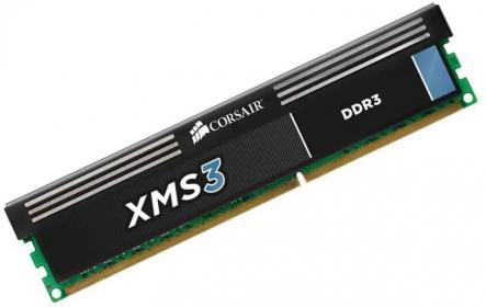 Corsair XMS3 8GB 1600MHz DDR3 (CMX8GX3M1A1600C11)