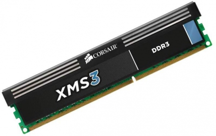 Corsair XMS3 4GB DDR3 1600MHz (CMX4GX3M1A1600C11)