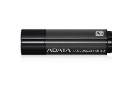 ADATA S102 Pro Pendrive 256GB Titanium Szürke(AS102P-256G-RGY)