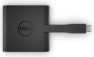 Dell DA200 USB-C > HDMI+VGA+Ethernet+USB 3.0 átalakító (470-ABRY)