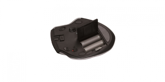 Genius  Ergo 8800 wireless lézer fekete-ezüst egér (31030105101)