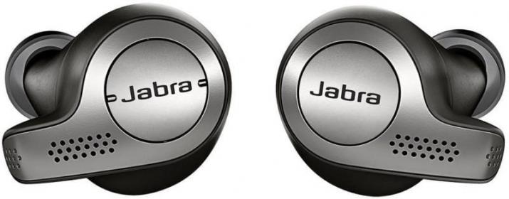 Jabra Elite 65T True Wireless vezeték nélküli fülhallgató,titánium-fekete -  100-99000000-60