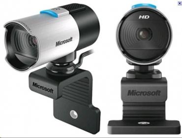 Microsoft LifeCam Studio webkamera Fekete-Ezüst