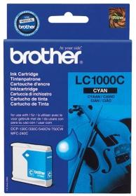 Brother LC1000C ciánkék tintapatron (TJBLC1000C)