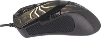 A4Tech Oscar X747 USB lézer barna mintás gamer egér (A4TMYS29980)