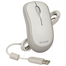 Microsoft 4YH-00008 USB/PS/2 optikai fehér egér