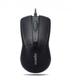 RAPOO N1162 USB optikai fekete egér (155471)