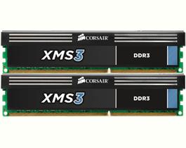 Corsair XMS3 8GB (2x4GB) DDR3 1600MHz (CMX8GX3M2A1600C9)