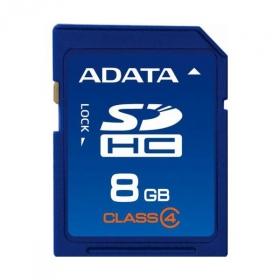 ADATA  8 GB SDHC Class 4 Memóriakártya (ASDH8GCL4-R)