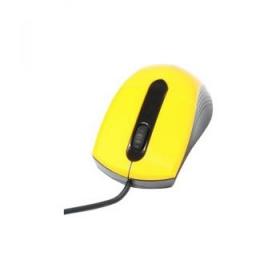 Media-Tech MT1104Y USB optikai sárga-fekete egér