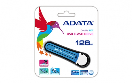 Adata S107 pendrive 128GB Kék (AS107-128G-RBL)