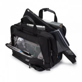 Dicota Top Traveller Twin PRO Notebook Táska 15,6'' Fekete (D30844)