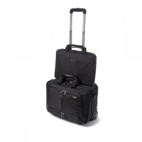Dicota Top Traveller Roller PRO Notebook Táska 15,6'' Fekete (D30848)